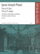 Trio In F-Dur, B. 444 : Für Violine, Violoncello und Klavier / Ed. John F. and Virginia F. Strauss.