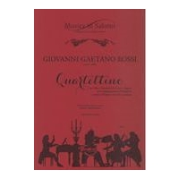 Quartettino : Per Oboe, Clarinetto, Corno E Fagotto, Con Accompagnamento Di Pianoforte.