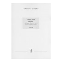 Requiem : For Soprano and Baritone Solo, Double Chorus and Orchestra.