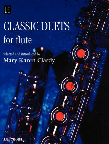 Classic Duets : For Flute / Selected and Introduced by Mary Karen Clardy.