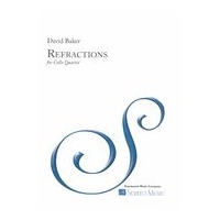 Refractions : For Cello Quartet (1993).