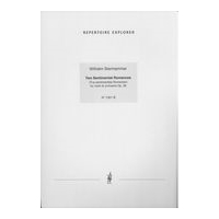 Tva Sentimentala Romanser, Op. 28 : For Violin and Orchestra - Piano reduction.