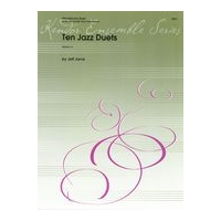 Ten Jazz Duets : For Alto and Tenor Saxophones.