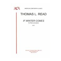 If Winter Comes : Concert Piece For Flute and Piano (2013).