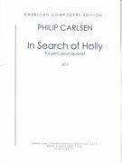 In Search of Holly : For Three Marimbas and Snare Drum (2017).