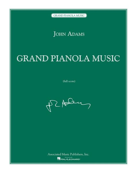 Grand Pianola Music : Second Printing, October 2017.