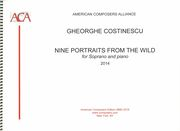 Nine Portraits From The Wild : For Soprano and Piano (2014).