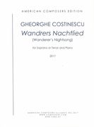 Wandrers Nachtlied (Wanderer's Nightsong) : For Soprano Or Tenor and Piano (2016).