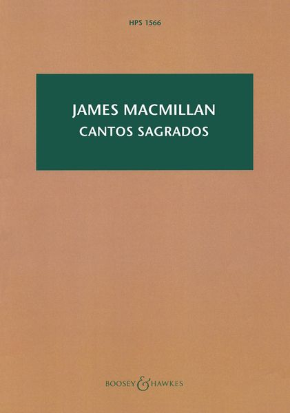 Cantos Sagrados : For Mixed Choir and Orchestra (1989).