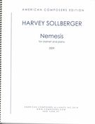 Nemesis : For Clarinet and Piano (2007-08).