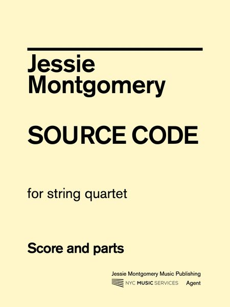 Source Code : For String Quartet.