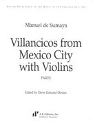 Villancicos From Mexico City With Violins / edited by Drew Edward Davies.