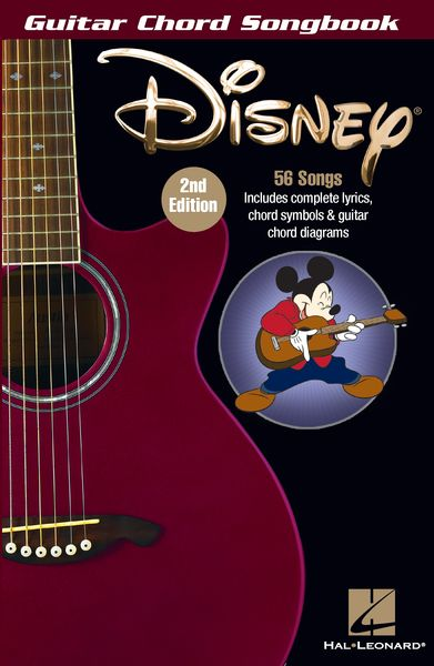 Disney Guitar Chord Songbook - 2nd Edition.