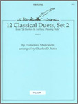 12 Classical Duets, Set 2 : For 2 Flutes.