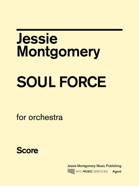 Soul Force : For Orchestra.