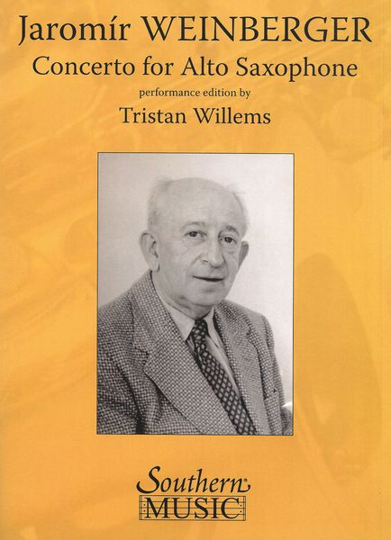 Concerto For Alto Saxophone : Piano reduction / Performance Edition by Tristan Willems.