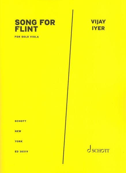 Song For Flint : For Solo Viola.