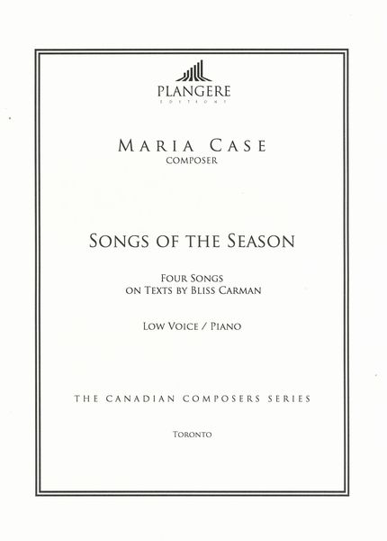 Songs of The Season : For Low Voice and Piano / edited by Brian McDonagh.