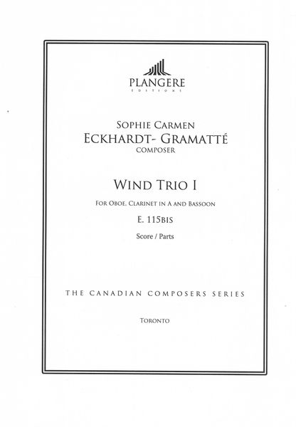 Wind Trio I, E. 115bis : For Oboe, Clarinet In A and Bassoon / edited by Brian McDonagh.