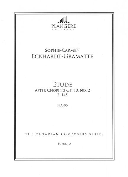 Etude After Chopin's Op. 10, No. 2, E. 145 : For Piano / edited by Brian McDonagh.