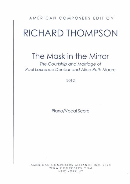 Mask In The Mirror : Opera In Three Acts (2020).