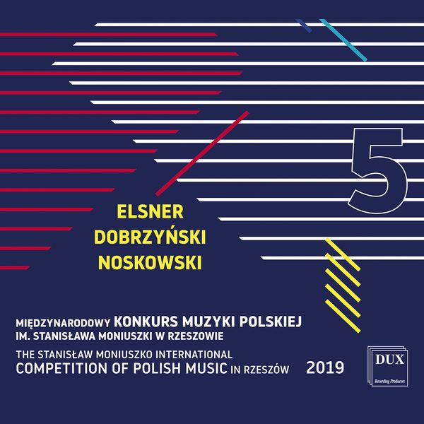 Stanislaw Moniuszko International Competition of Polish Music In Rzeszow 2019, Vol. 5.
