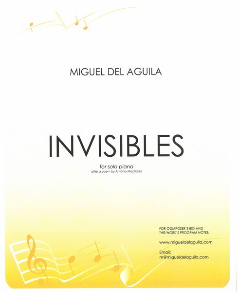 Invisibles, Op. 124 : For Solo Piano (2019).
