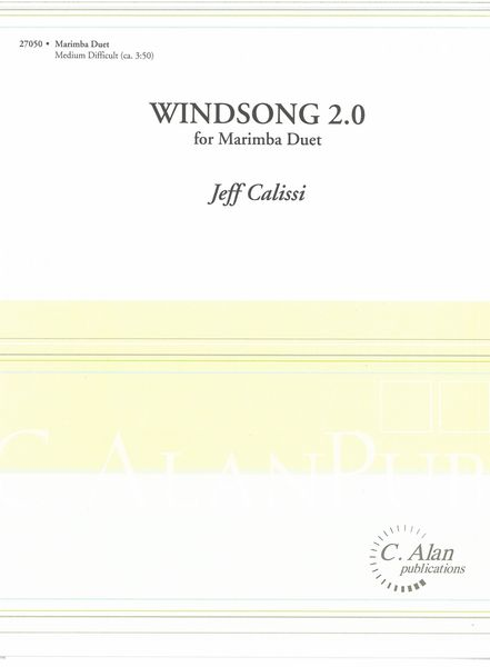 Windsong 2.0 : For Marimba Duet.