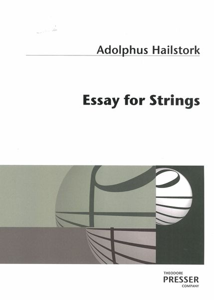 Essay For Strings (1986).