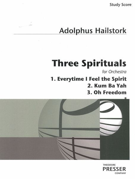 Three Spirituals : For Orchestra.