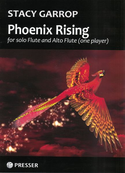 Phoenix Rising : For Solo Flute and Alto Flute (One Player) (2016, 2017).