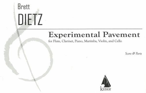Experimental Pavement : For Flute, Clarinet, Piano, Marimba, Violin and Cello (2003).