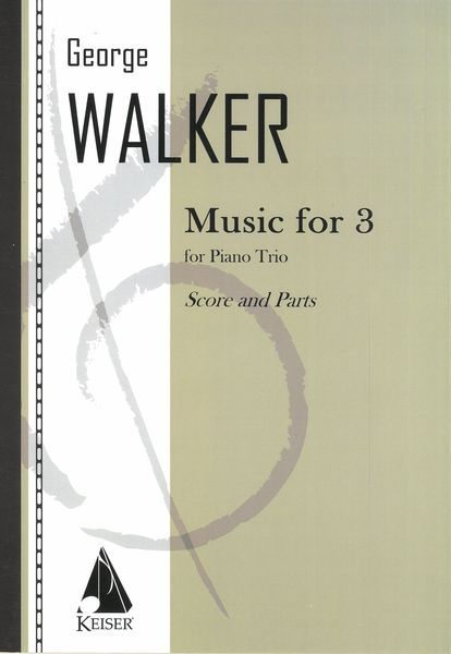 Music For 3 : For Piano Trio (1970/1991).