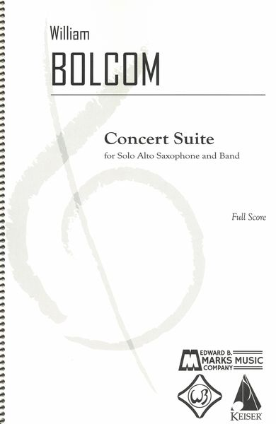 Concert Suite : For Solo Alto Saxophone and Band.