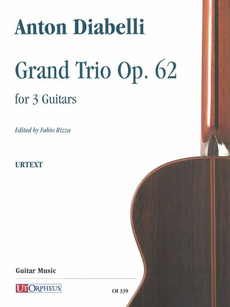Grand Trio, Op. 62 : For 3 Guitars / edited by Fabio Rizza.