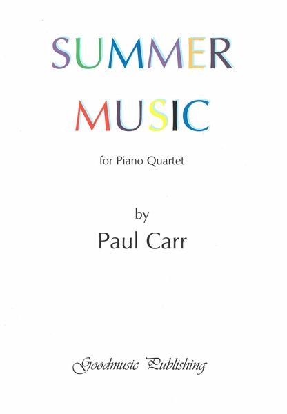 Summer Music : For Piano Quartet.