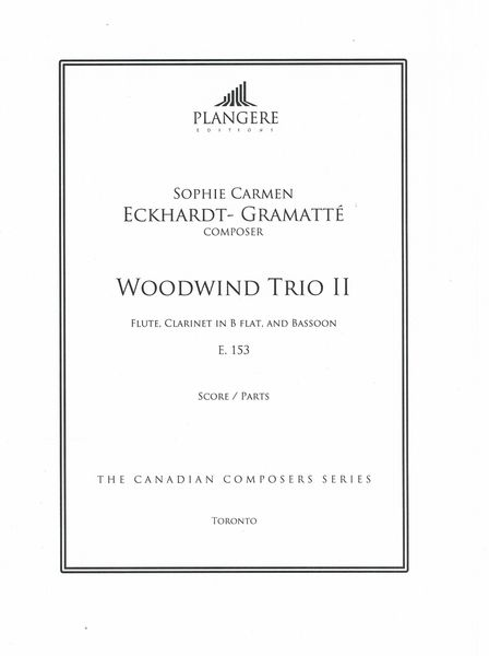 Woodwind Trio II, E. 153 : For Flute, Clarinet In B Flat and Bassoon / edited by Brian McDonagh.