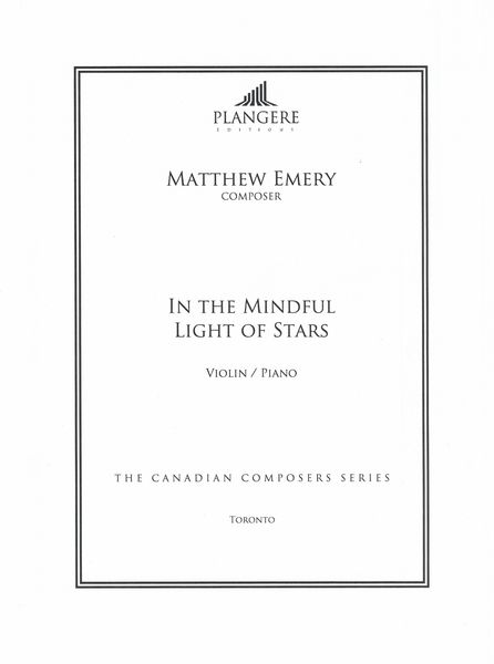 In The Mindful Light of Stars : For Violin and Piano / edited by Brian McDonagh.