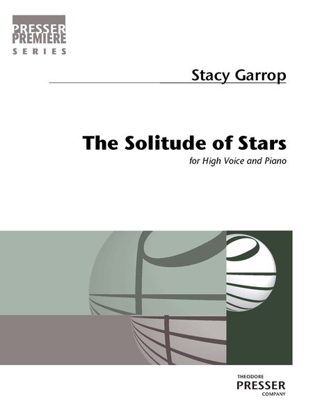 Solitude of Stars : For High Voice and Piano.