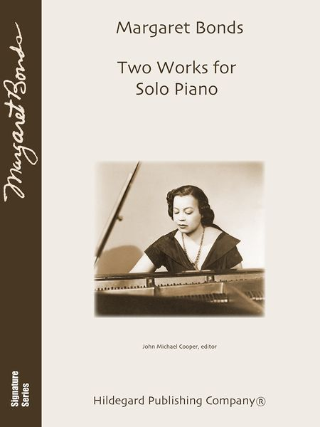 Two Works For Solo Piano / edited by John Michael Cooper.