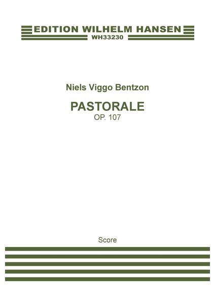 Pastorale, Op. 107 : For Orchestra (1956).