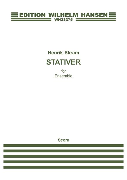 Stativer : For Ensemble.