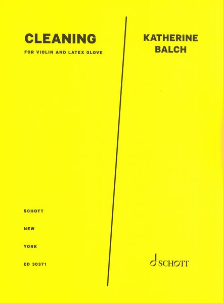 Cleaning : For Violin and Latex Glove (2020).