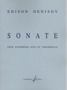 Sonata : For Alto Saxophone and Violoncello.